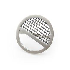 Sieve Ring-- sterling silver