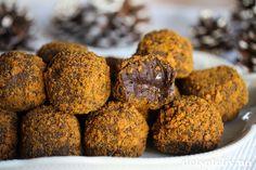 Pepperkaketrøfler er nydelig konfekt til jul! PS: Superlette å lage Nutella, Muffin, Food And Drink, Baking, Breakfast, Christmas, Cakes, Inspiration, Morning Coffee