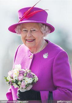 Queen Elizabeth, March 20, 2015 in Rachel Trevor Morgan | Royal Hats
