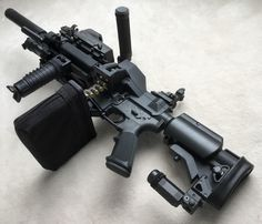 Tagged with guns, weapons, machinegun, allthingsjjw; Shared by Colt w/ Belt-Fed Upper Military Weapons, Weapons Guns, Guns And Ammo, Tactical Rifles, Firearms, Tactical Survival, Airsoft, Armas Wallpaper, Light Machine Gun