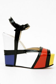 If It's Hip, It's Here: Mondrian Madness: In Furniture, Shoes, Home Decor & More.