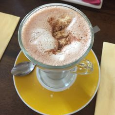 Crookstown Inn in Co Kildare, Co Kildare, just another powder hot chocolate
