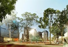 Proposed Green Square Town Centre