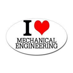 I Love Mechanical Engineering Sticker (Oval) I Love Mechanical Engineering Sticker by BestDesign - CafePress Speed Bump, Political Views, Mechanical Engineering, White Vinyl, Tool Box, Print Design, Politics, Stickers, Humor