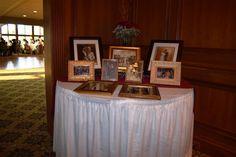 Display photos Display Photos, Photo Displays, Glen Oaks, Slate Roof, English Style, Bedroom Storage, Reception, Wedding Ideas, Decorations