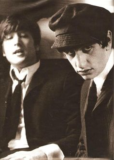 PHOTO by Astrid Kirshherr (German photographer) . . . . Ringo 1964 (love the face)