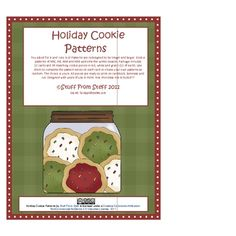 Cookie patterns of AB, AAB, ABB and ABC welcome the winter season. Package includes 12 task cards and 36 matching cookie pieces in red, white and g...