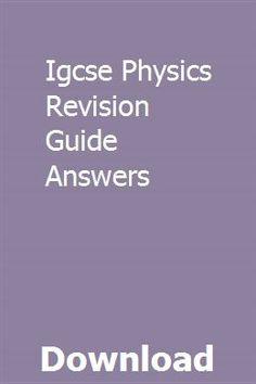 51 Best IGCSE Physics images in 2016 | Igcse physics