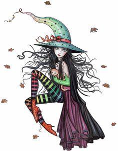 Molly Harrison Fantasy Witch Art, Vampire Art, and Halloween Art Prints Fantasy Witch, Witch Art, Fantasy Art, Witch Painting, Dark Fantasy, Body Painting, Halloween Images, Halloween Art, Vampire Art