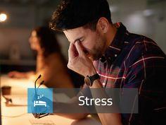 Seit Ihr oft zu aufgedreht, um zu einzuschlafen? Drei von zehn Personen geben an, dass sie vor #Stress kaum #schlafen können. Das muss nicht sein! #Tipps für einen guten #Schlaf gibt es hier in unserer aktuellen #Schlafstudie. Stress, Yoga, Movies, Life, Sleep Well, Falling Asleep, Challenges, Tips And Tricks, Films