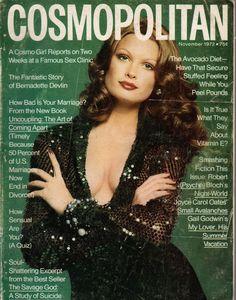 Cosmopolitan magazine, NOVEMBER 1972 Model: Denise Hopkins Photographer: Francesco Scavullo