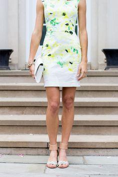 floral bodycon dress #frenchconnection #jcrew #verabradley | www.thefoxandshe.com