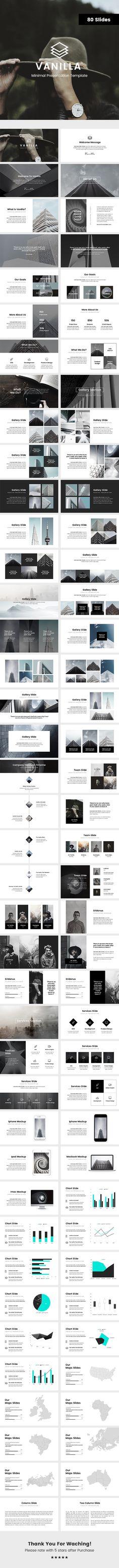 Vanilla Minimal Keynote Template  #infographic #portfolio • Download ➝ https://graphicriver.net/item/vanilla-minimal-keynote-template/18162605?ref=pxcr