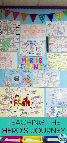 Ideas and activities for teaching the Hero's Journey in the secondary ELA classroom.