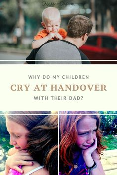 Why does my kid cry at handover? Is their father cruel to them? Parenting Toddlers, Parenting Hacks, Parenting After Separation, Crying For No Reason, Hungry Children, Life Without You, Emotional Stress, New Parents, Childcare