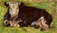 Lying Cow - Vincent van Gogh