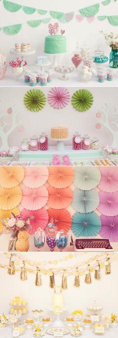 25 Lovely Dessert Table Designs