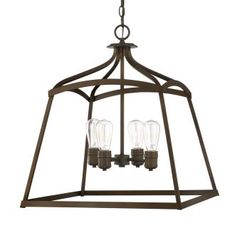 View the Capital Lighting 9102 Foyer Collection 4 Light Full Sized Pendant at Build.com.
