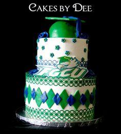 zebra print graduation decorating ideas | FGCU Graduation Cake
