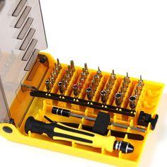 112 en 1 tournevis Set magnétique Embout Tournevis Torx multifonction Comput