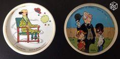 Dessous de verre Tonimalt Tournesol Hergé + Roba. À vendre pour collectionneur.