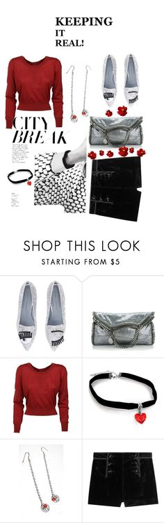 """""""Shorts Anytime"""" by dollie-stoudemire-mccall on Polyvore featuring Chiara Ferragni, STELLA McCARTNEY, Dolce&Gabbana and Emilio Pucci"""