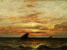 Jules Dupré - Coucher du soleil (1879-89)