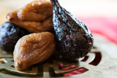 Tender, chewy figs....