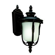 Luverne 1 Light Wall Lantern