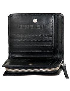 Ann Demeulemeester Wallet Jacky Black@ mrs h