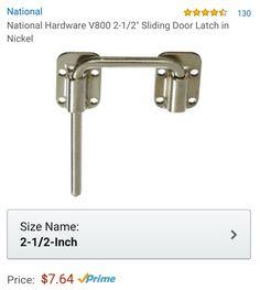 Door Latch Lock In Nickel For Sliding Barn Doors U2022 @ Amazon.com → Https