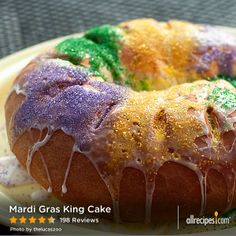 """Mardi Gras King Cake 