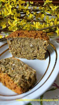 Moje                                                                       Kuchenne Rewelacje  : Pasztet z zielonej soczewicy z pieczarkami Vegan Recipes, Cooking Recipes, Banana Bread, Good Food, Food And Drink, Low Carb, Vegetarian, Baking, Vegetables