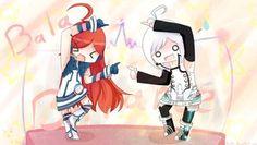 Piko and Miki lol