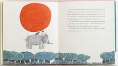 キュリオブックス Helga Aichinger 【THE ELEPHANT, THE MOUSE AND THE FLEA】