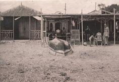 Playa de la Albufereta. Casetas Año: 1936