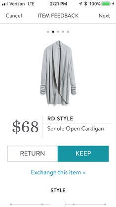 This is my favorite Stitch Fix sweater/piece to date. I wear it all the time!