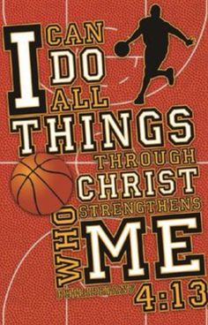 I do all things through Christ who strengthens me!;)