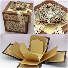 Explosion box by Papier&Paper