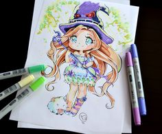 Magical Girl by Lighane.deviantart.com on @DeviantArt