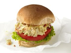 Chicken Salad Sandwiches recipe from Food Network Magazine via Food Network