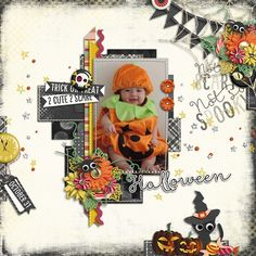 Template : Stitched Up 01 by Akizo Designs kit : Not So Spooky by Akizo Designs http://www.thedigichick.com/shop/Akizo-Designs/ Photo : Nora-chan