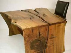 Ever wonder who and how the live edge furniture is made?  Robin Wade is one of the artist that uses the wood that was scrapped and creates the most beautiful pieces of furniture that can stand alone as ART.