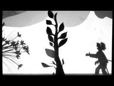 Jack & the Beanstalk, Film-making shadow puppets movie, Somersham School - YouTube