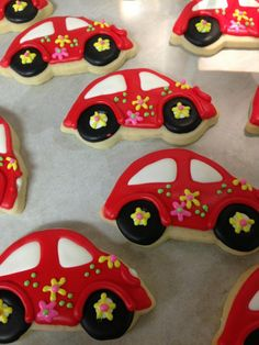 Cookie Construction Co. VW bugs - cute and delicious!