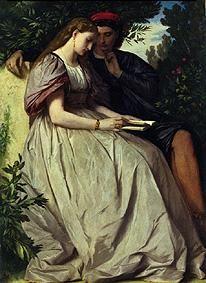 Anselm Feuerbach - Paolo und Francesca.