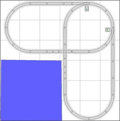 Track Plans and Ideas – Trainz Lionel Trains Layout, Lionel Train Sets, Ho Train Layouts, Model Railway Track Plans, Ho Model Trains, Hobby Trains, Model Training, How To Plan, Train Tracks