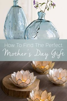 This year, be her favorite child. Find the perfect gift for your mother with eco-friendly home decor she'll love.