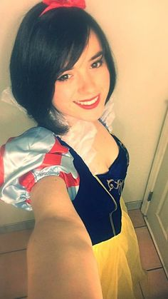 I was Snow White for Halloween last year. The look of kids faces as I walked past was priceless. Even had one child want to take a picture with 'Snow White' ^_^