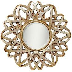 "Kichler Sunburst Wall Mirror 30"" $156 at Joss & Main"